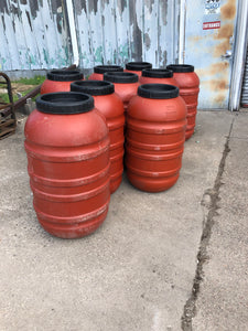 58 gallon Food Grade Barrels