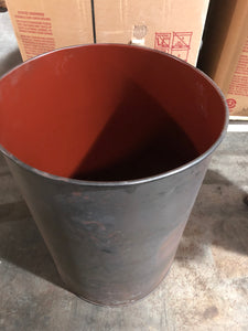 Feed Barrels---50 gallon Steel with ultra easy lever lid
