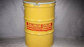 85 gallon Steel Overpack/salvage Drum