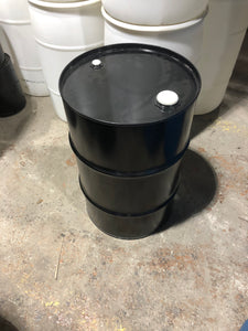 30 Gallon Closed Top Carbon Steel Drum, rated, new