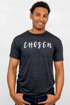 Men's CHOSEN Classic Crew Neck Tee (Vintage Black Color)