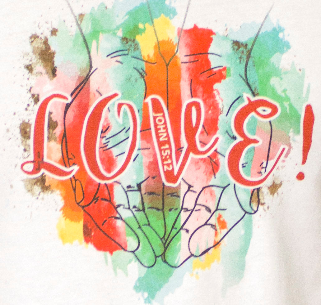 Women's LOVE! Premium Super Soft V-Neck Tee