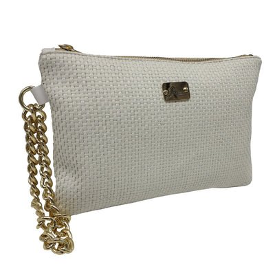 PRECIOUS Braided - Gold Chain Bracelet Bag