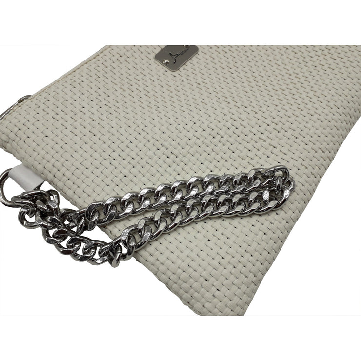 PRECIOUS Braided - Silver Chain Bracelet Bag