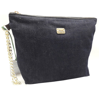 PRECIOUS Denim - Gold Chain Bracelet Bag