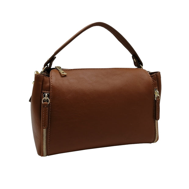 Chic Leather Bag (B194X)
