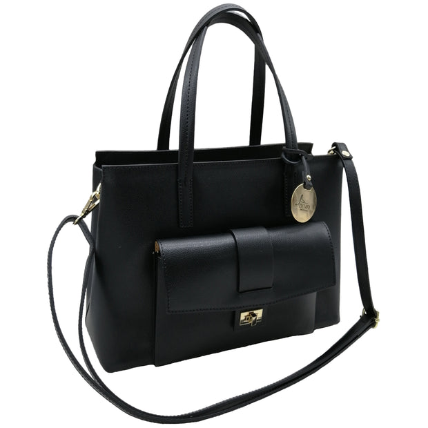 Leather Classic Italian Bag (B279)
