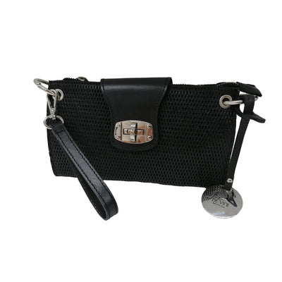 Leather Wrist Bag (B295)