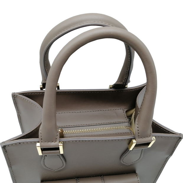 Structured Day Leather Bag (B311)