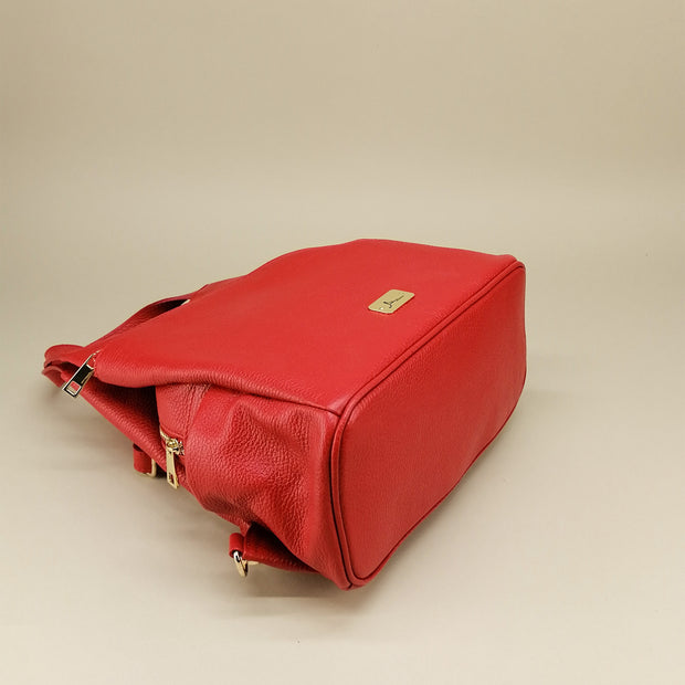 Leather Backpack (B334)
