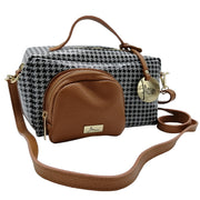 Elegant, Sporty or Casual Rectangular Leather Bag (B362)