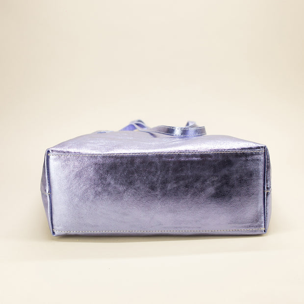 Shiny and Sparkling Leather Bag