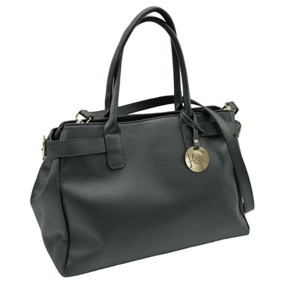 Smooth Leather Handbag (Greta)