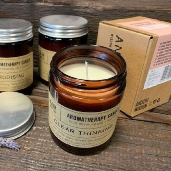 Aromatherapy Candles for Clear Thinking
