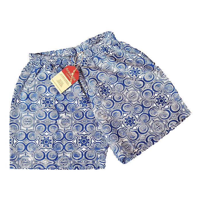 Blue Circles Boxer Shorts