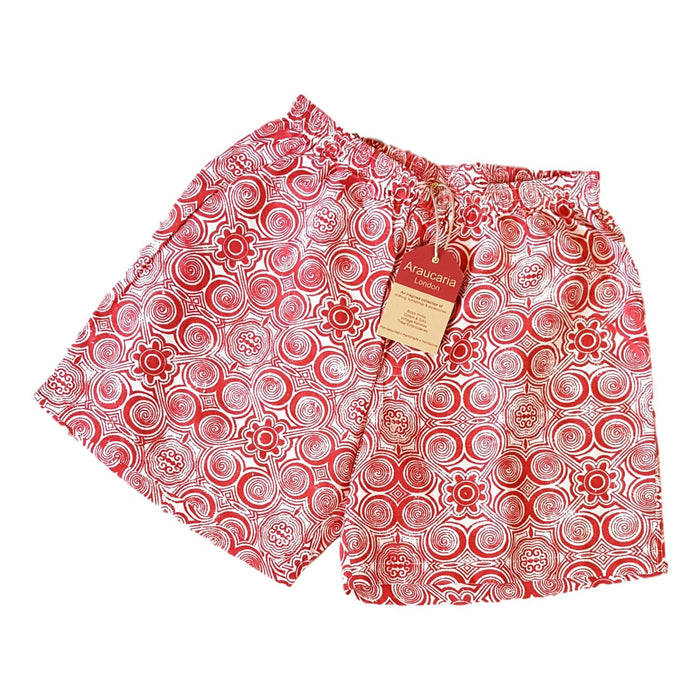 Red Circles Boxer Shorts