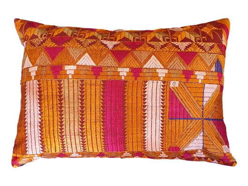 Phulkari Lumber Cushion Cover
