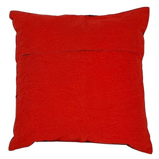 Elephant Cushion Cover - Red