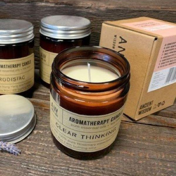 Soy Wax Candles with Essential Oils