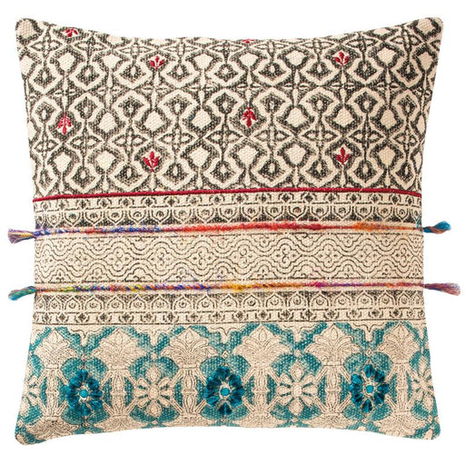Tribal Indian Block Print Cushion Cover