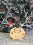 helloholidays - Deer Head W/Metal Antlers, 12 inches - Renaissance 2000 - Christmas Decoration