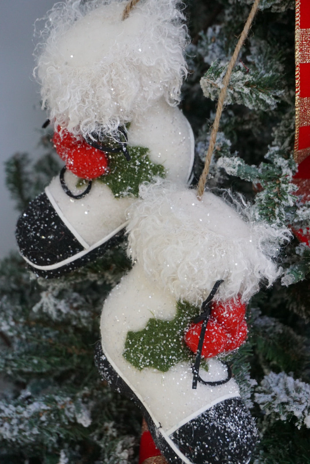helloholidays,Snow Boots Ornament,Creative coop,Ornament