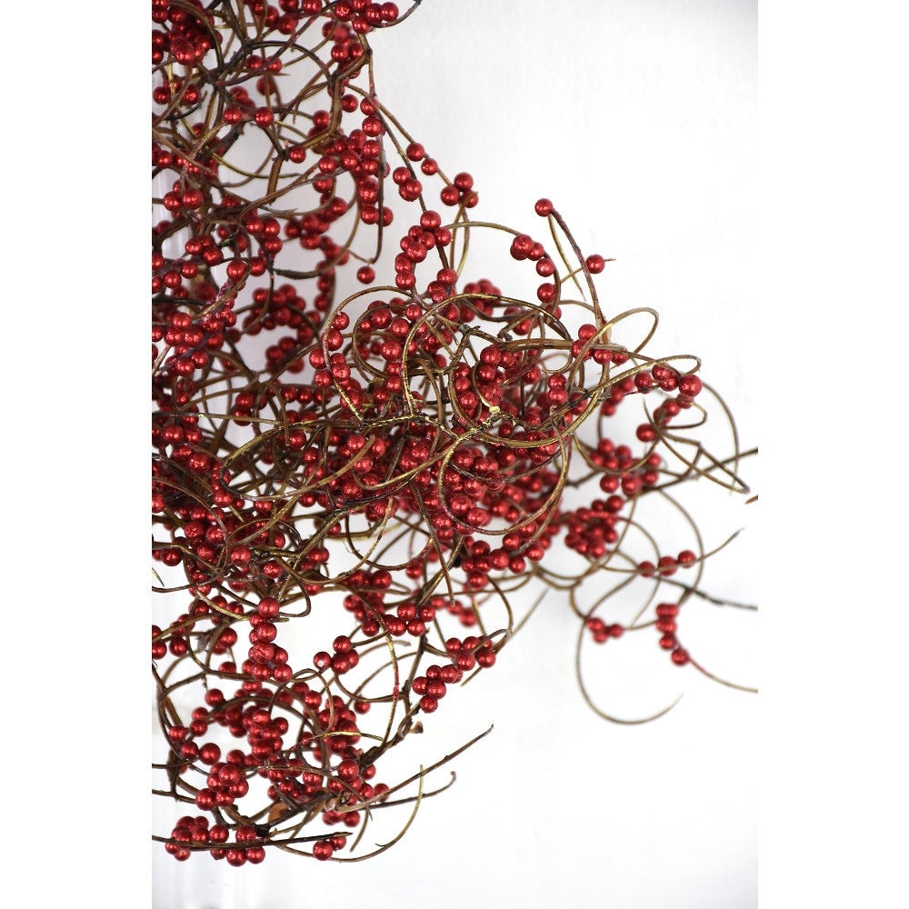 helloholidays,Curly Berry Branch,Direct Export,Garland