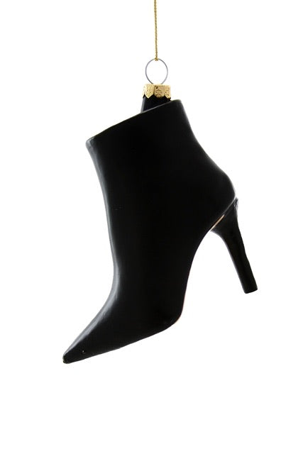 helloholidays,Black Stiletto Boot,Cody Foster,Ornament