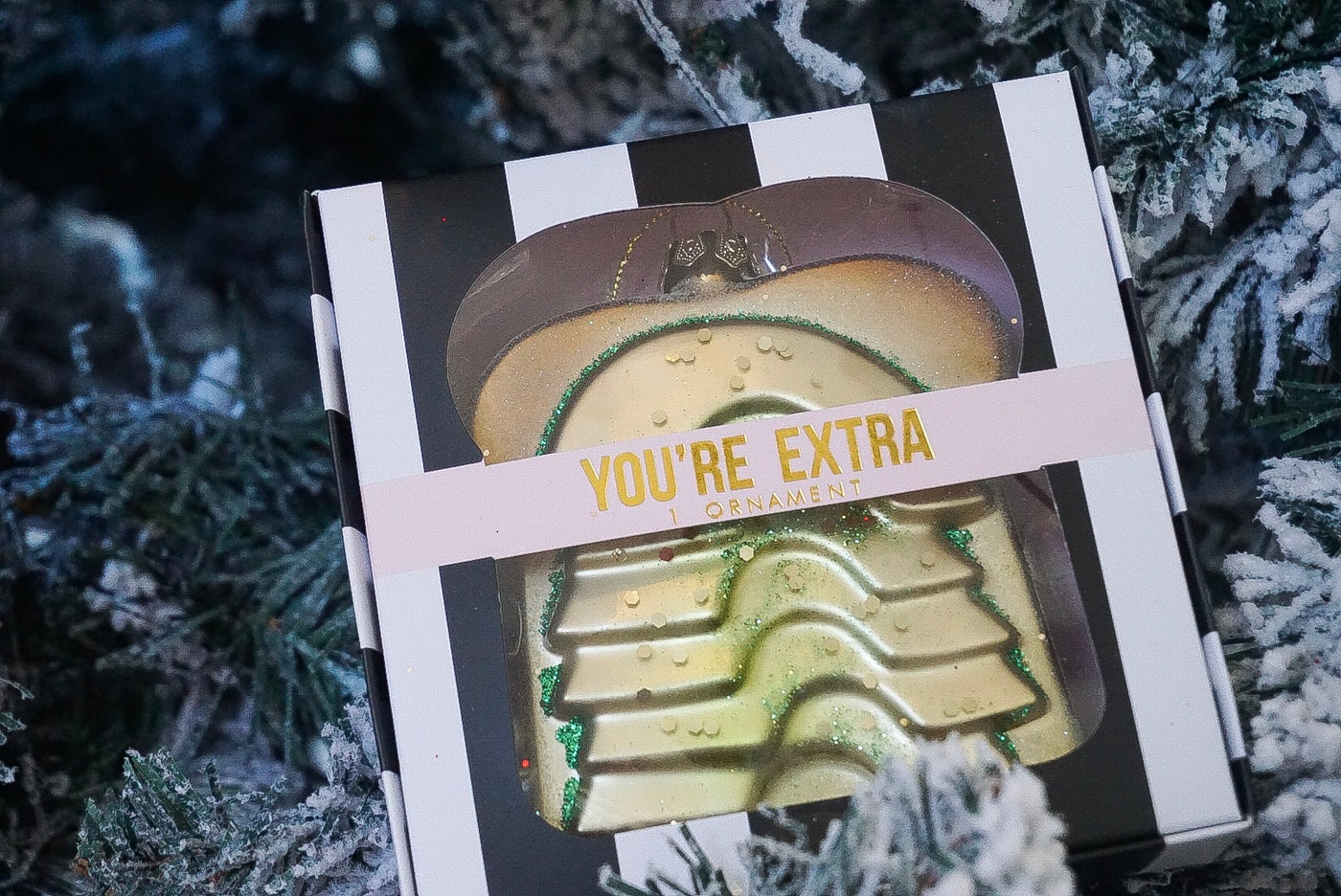 SOLD OUT!!!!  You're Extra Avocado Toast Ornament