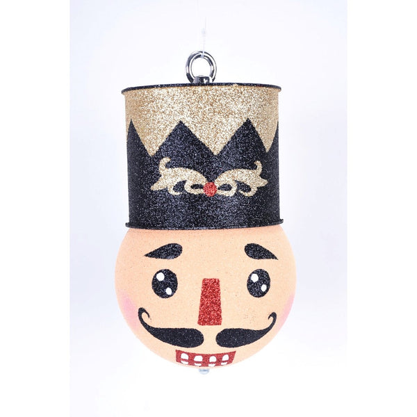 helloholidays,Nutcracker Head Ornament,Direct Export,Ornament