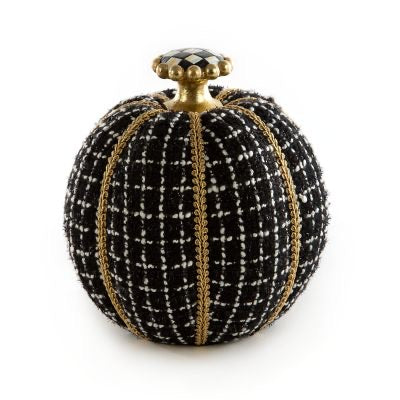 helloholidays,MacKenzie Childs Smaller Designer Pumpkin,MacKenzie Childs,Pumpkin