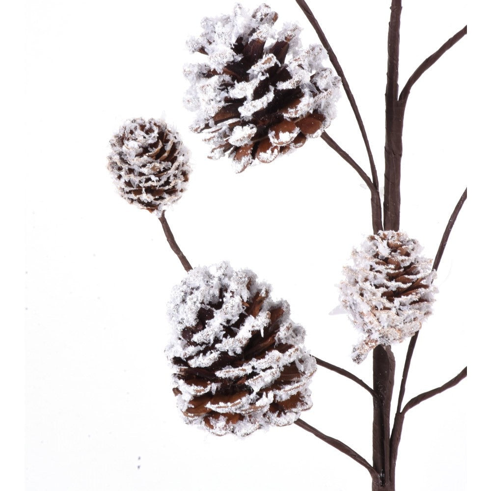 helloholidays,Frosted Pinecone Spray,Direct Export,Sprig