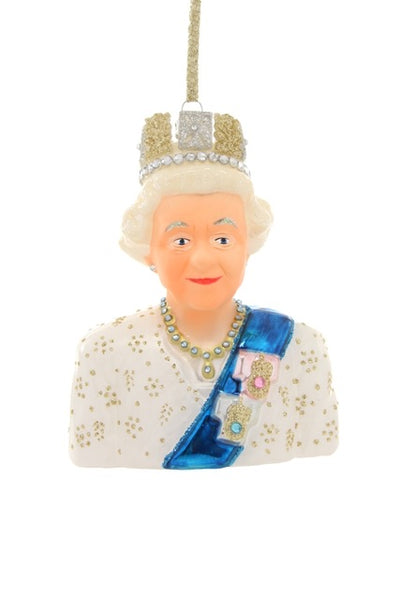 helloholidays,Queen Elizabeth Ornament,Cody Foster,Ornament.