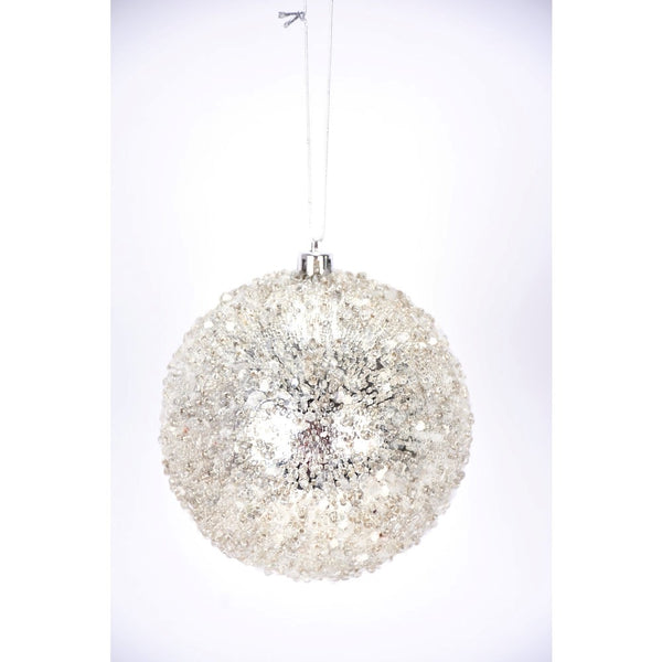 helloholidays,Iced Beaded Ball Ornament,Direct Export,Ball, ornament