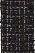 helloholidays,Black Boucle with Metallic Thread,D.Stevens,Ribbon