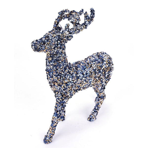 helloholidays,Blue Sequin Deer,Direct Export,Christmas Decoration