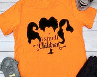 Yellow Hocus Pocus Graphic shirt halloween womens - DarkHorseClothingCompany