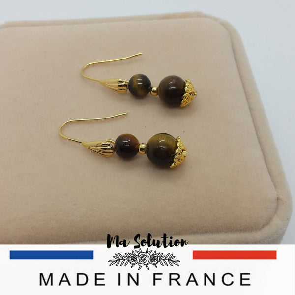BOUCLES DUO TIGRE