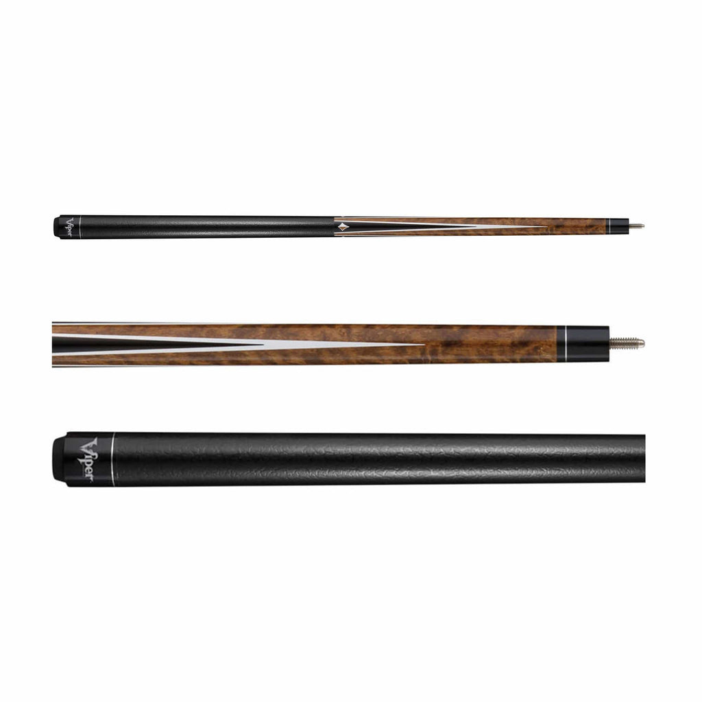 Viper Diamond Brown Stain Cue - Good Life Game Rooms