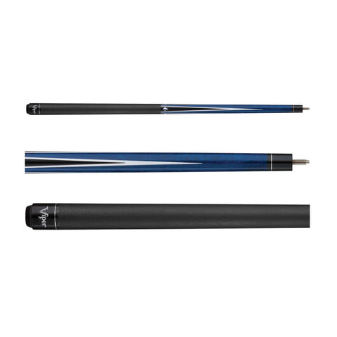 Viper Diamond Blue Stain Cue - Good Life Game Rooms