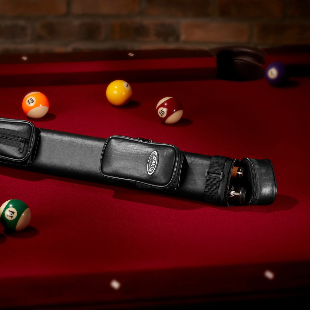 Casemaster Classic Q-Vault 1 Butt 1Shaft Cue Case - Good Life Game Rooms