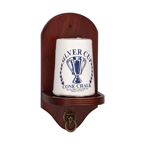 Viper Mahogany Cone Chalk Holder - Good Life Game Rooms