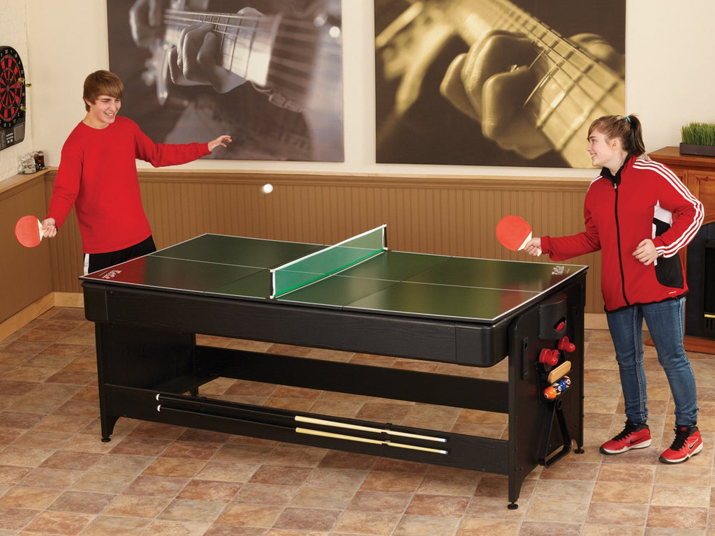 Fat Cat Original 3-In-1 7ft Pockey Multi-Game Table - Good Life Game Rooms