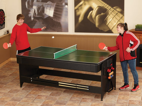 Image of Fat Cat Original 3-In-1 7ft Pockey Multi-Game Table - Good Life Game Rooms