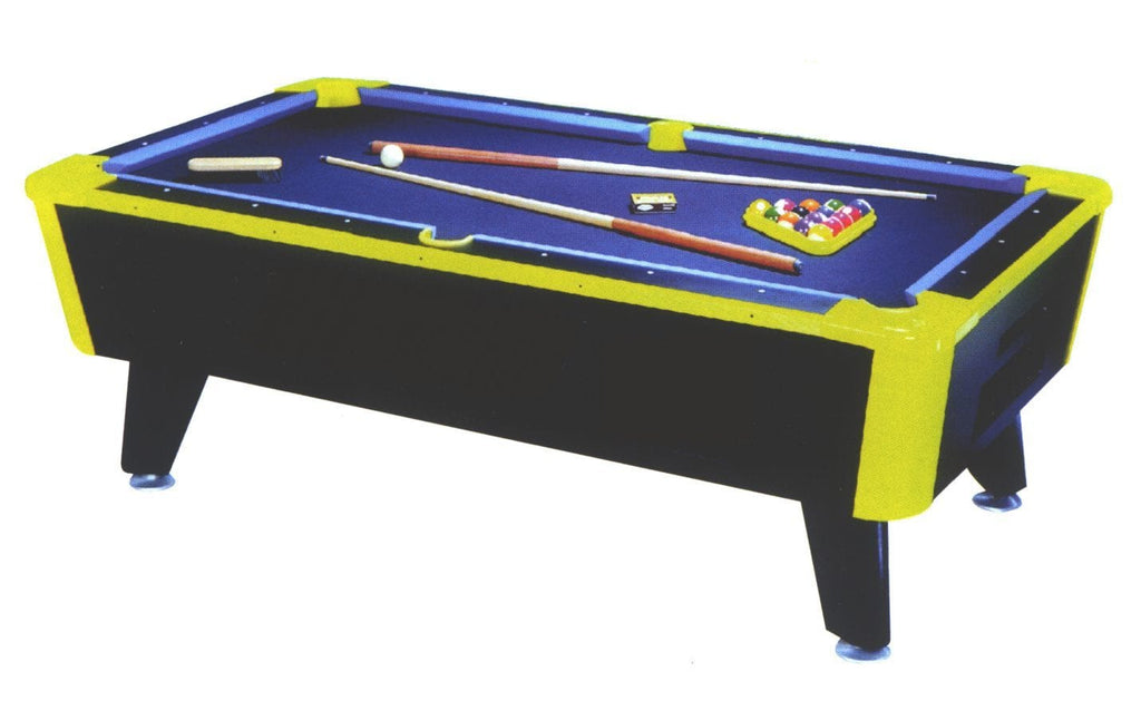 Great American Neon Pool Table - Good Life Game Rooms