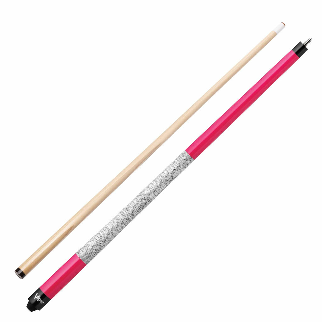 Viper Elite Series Hot Pink Wrapped Cue - Good Life Game Rooms