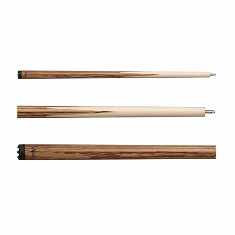 Viper Sneaky Pete Zebrawood Cue - Good Life Game Rooms