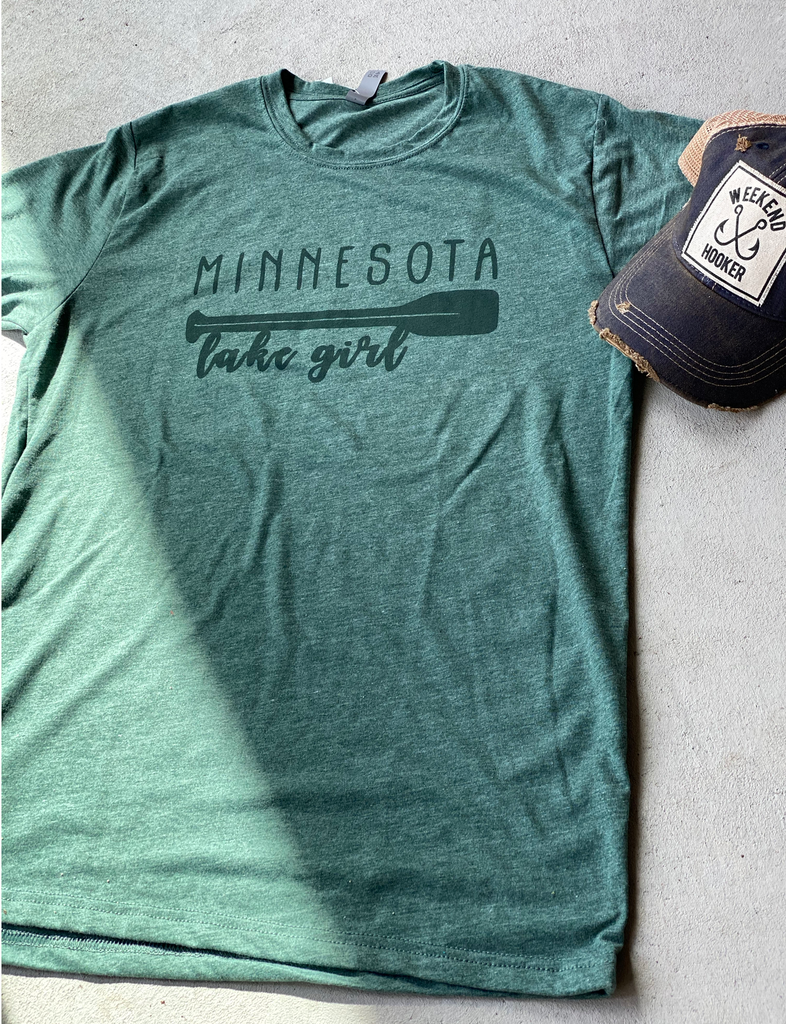 Minnesota Lake Girl Tshirt