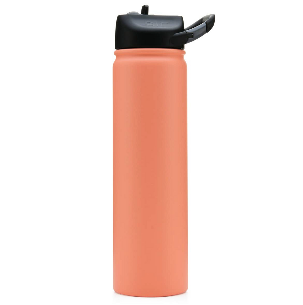 Matte Coral SIC Stainless Steel Water Bottle