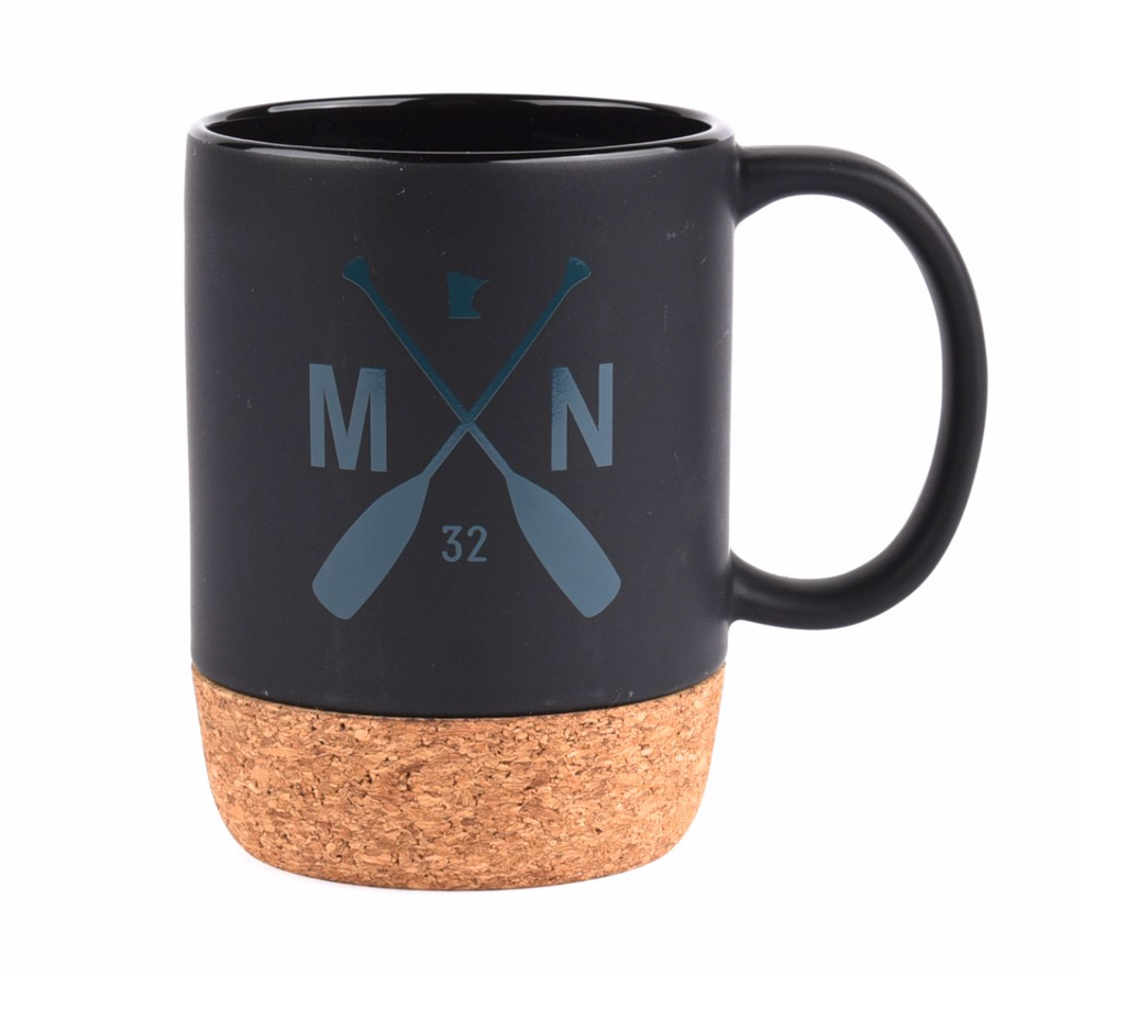 Spencer's Mug - Black/Teal